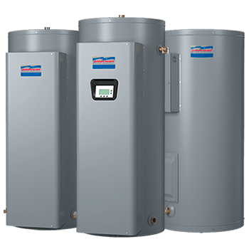 Electric commercial water heaters